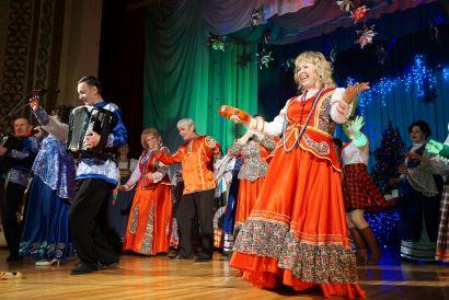 В Усть-Катаве прошёл концерт клуба гармонистов