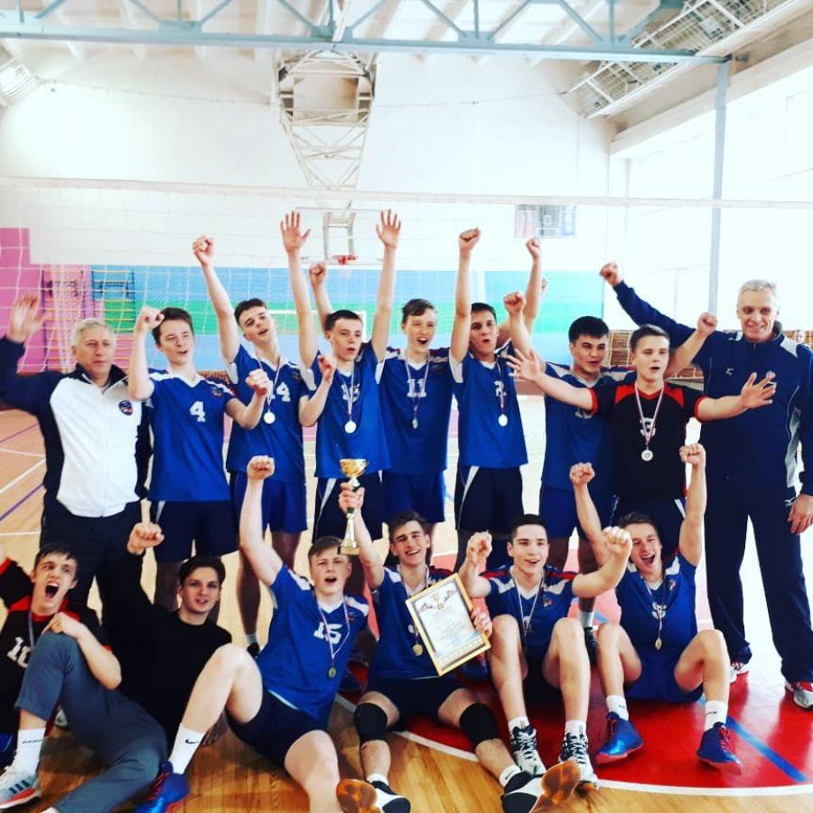 Усть-катавские волейболисты вернулись с победой