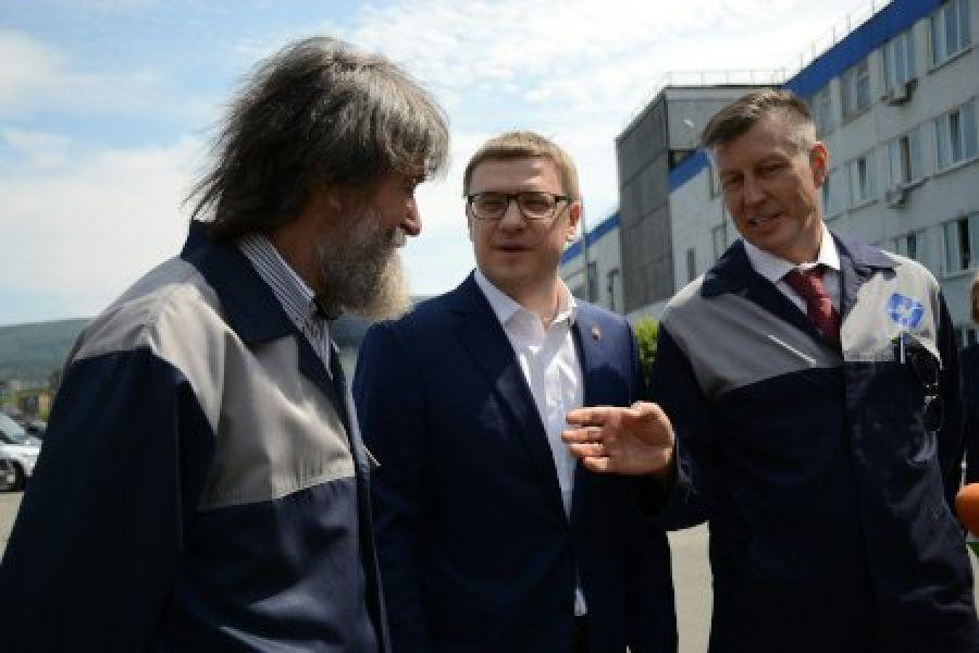Алексей Текслер встретился в Миассе со знаменитым путешественником