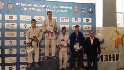 Дзюдоисты Усть-Катава стали призёрами всероссийского турнира