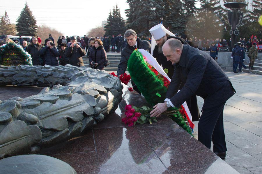ВЧелябинске почтили память защитников Отечества