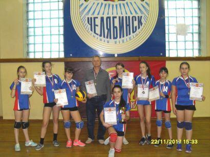 Волейболистки Усть-Катава - призёры областного первенства