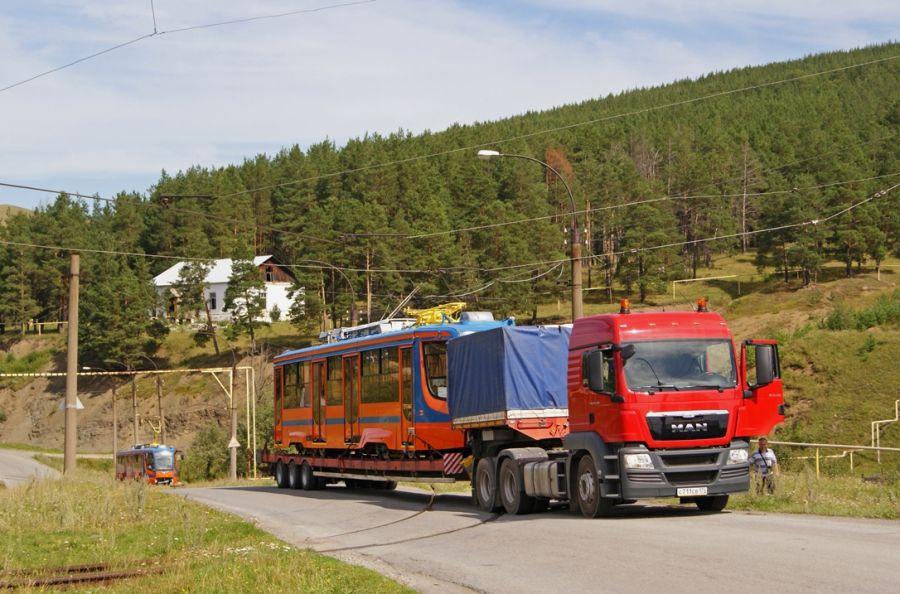 Усть-Катавские трамваи в