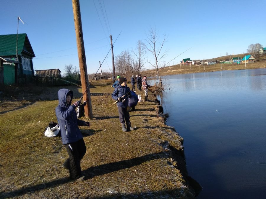 В Усть-Катаве открылась рыболовная секция