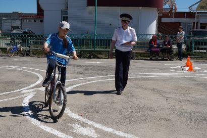 Школа № 1 – вновь лучшая в конкурсе «Безопасное колесо»