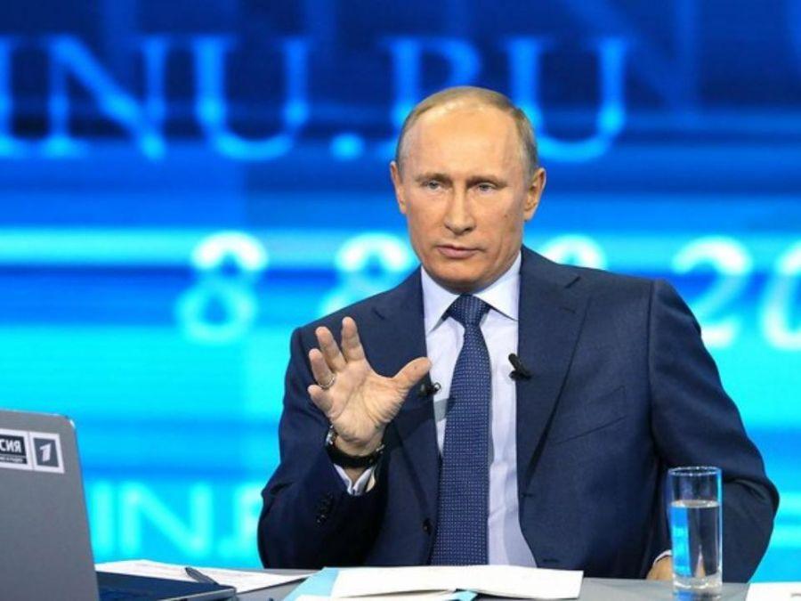 Владимир Путин в14-й раз проведёт прямую линию сжителями РФ