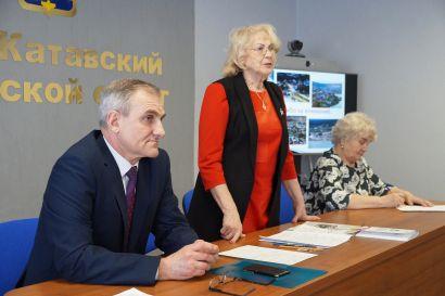 Глава Усть-Катавского округа встретился с ветеранами
