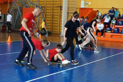 В Усть-Катаве прошли соревнования самых дружных и спортивных семей