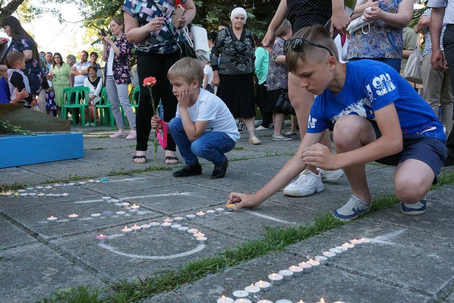 Усть-Катав присоединился к Всероссийской акции «Свеча памяти»