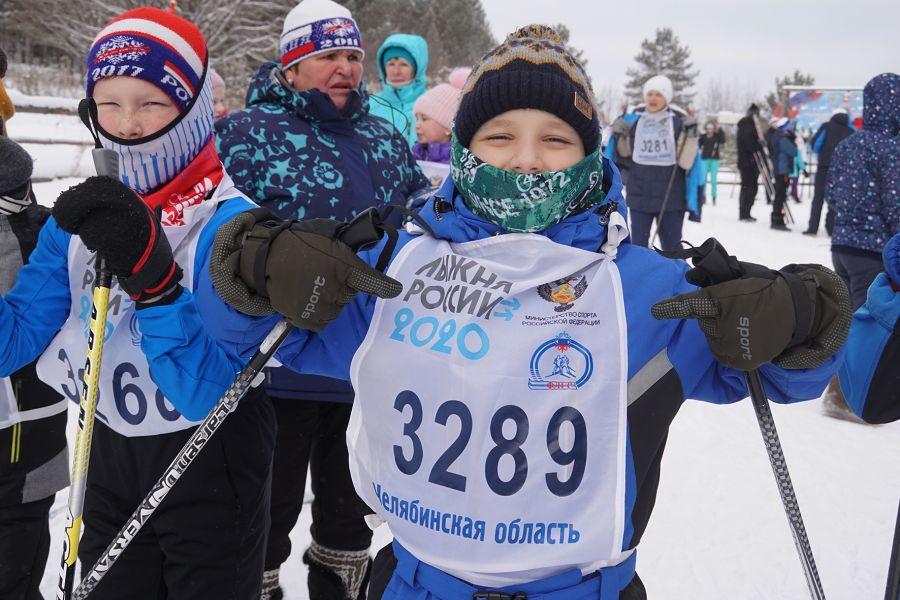 В Усть-Катаве прошла Всероссийская гонка «Лыжня России»