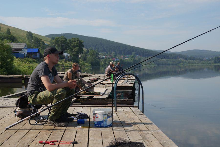 пруд катав ивановск рыбалка