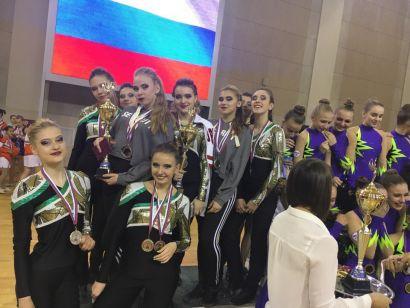 Черлидеры Усть-Катава стали призёрами всероссийских соревнований